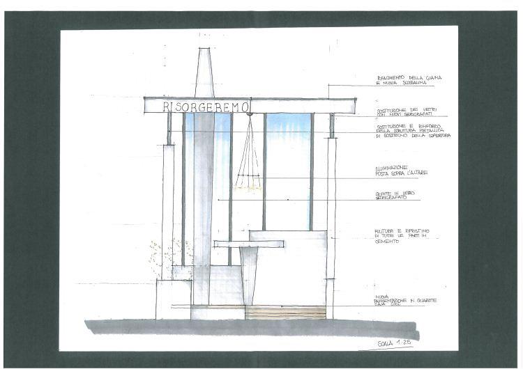 CASO STUDIO: L'ABBATTIMENTO DELLE BARRIERE ARCHITETTONICHE DEL CIMITERO DI GANDELLINO (BG)